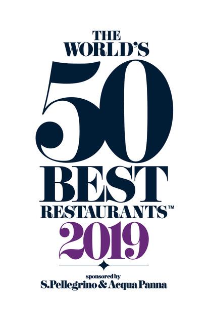 Risultati immagini per the world's 50 best restaurants 2019