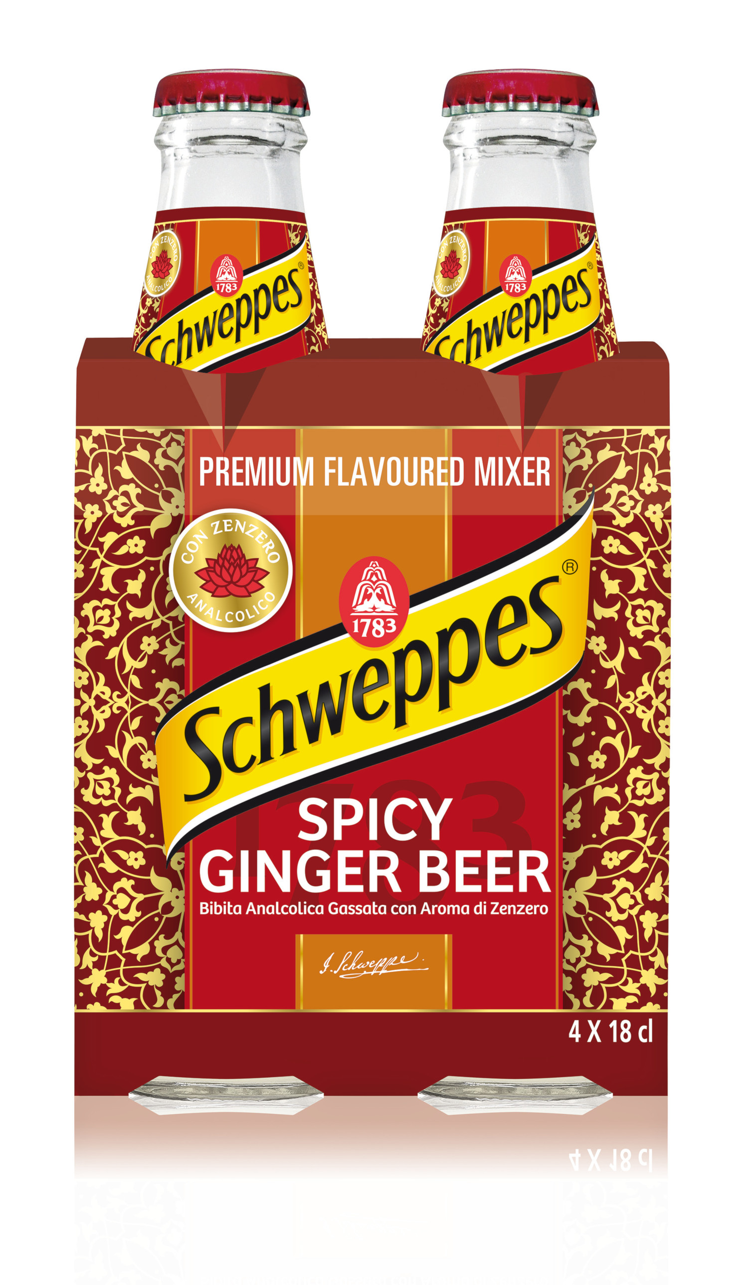 Risultati immagini per Spicy Ginger Beer Schweppes