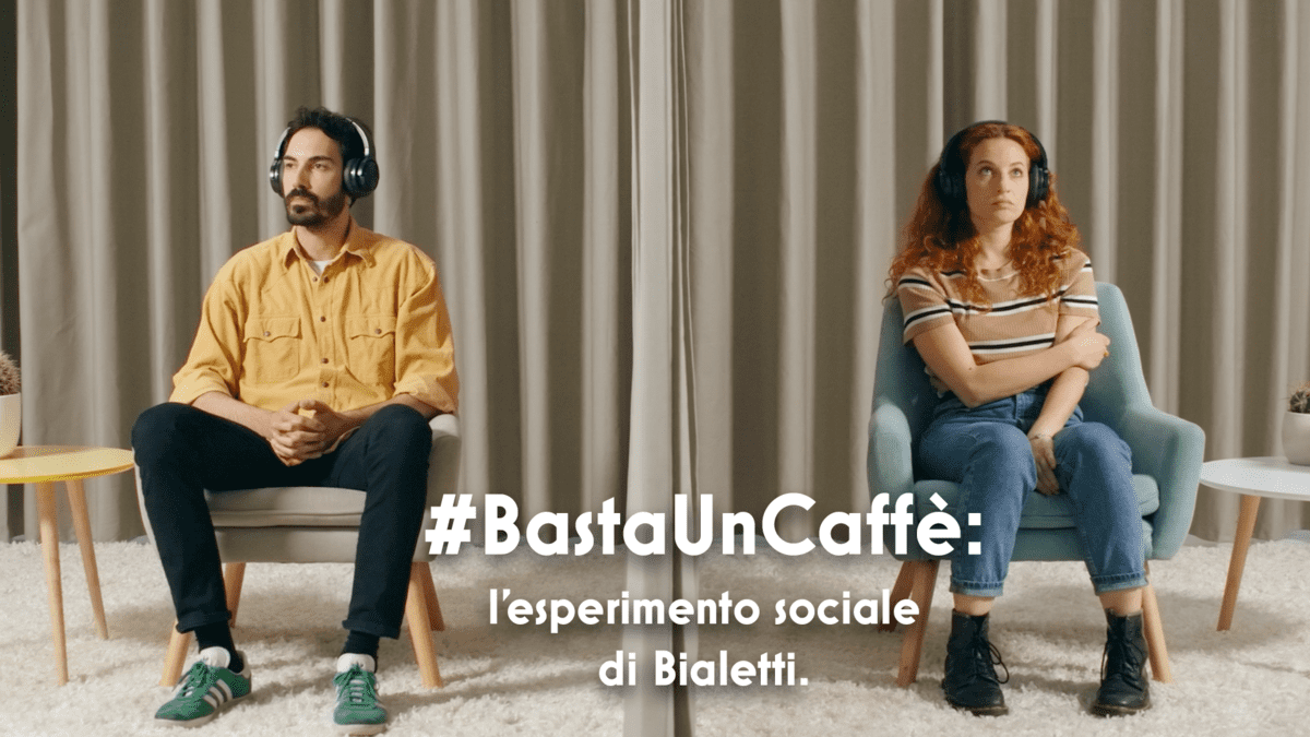 Bialetti lancia la nuova campagna digital #BastaUnCaffè