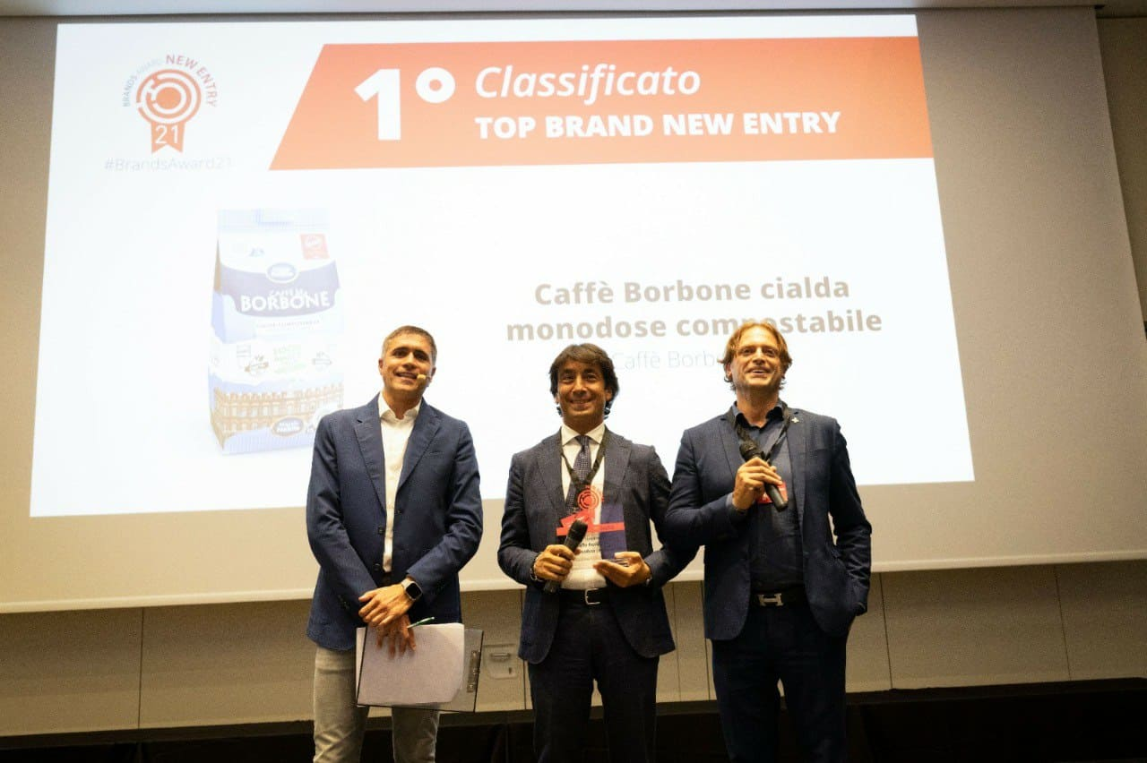 Caffè Borbone ai Brand Award