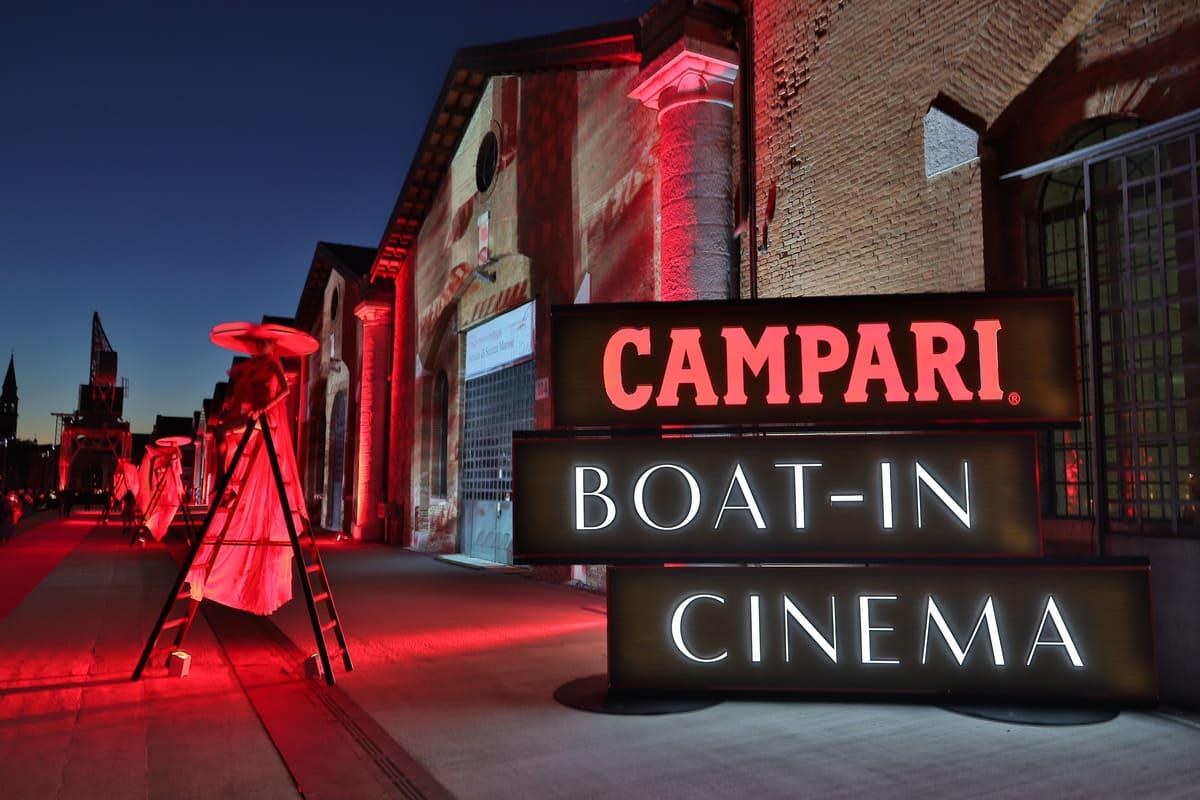 Campari Boat – In Cinema