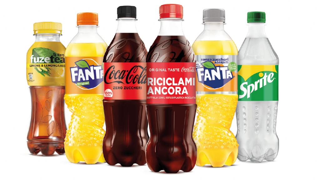 Coca-Cola 100% di plastica riciclata