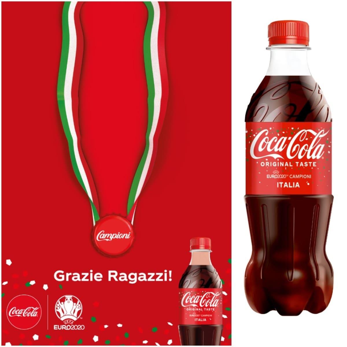 Coca-Cola celebra la Nazionale italiana vincitrice UEFA EURO 2020