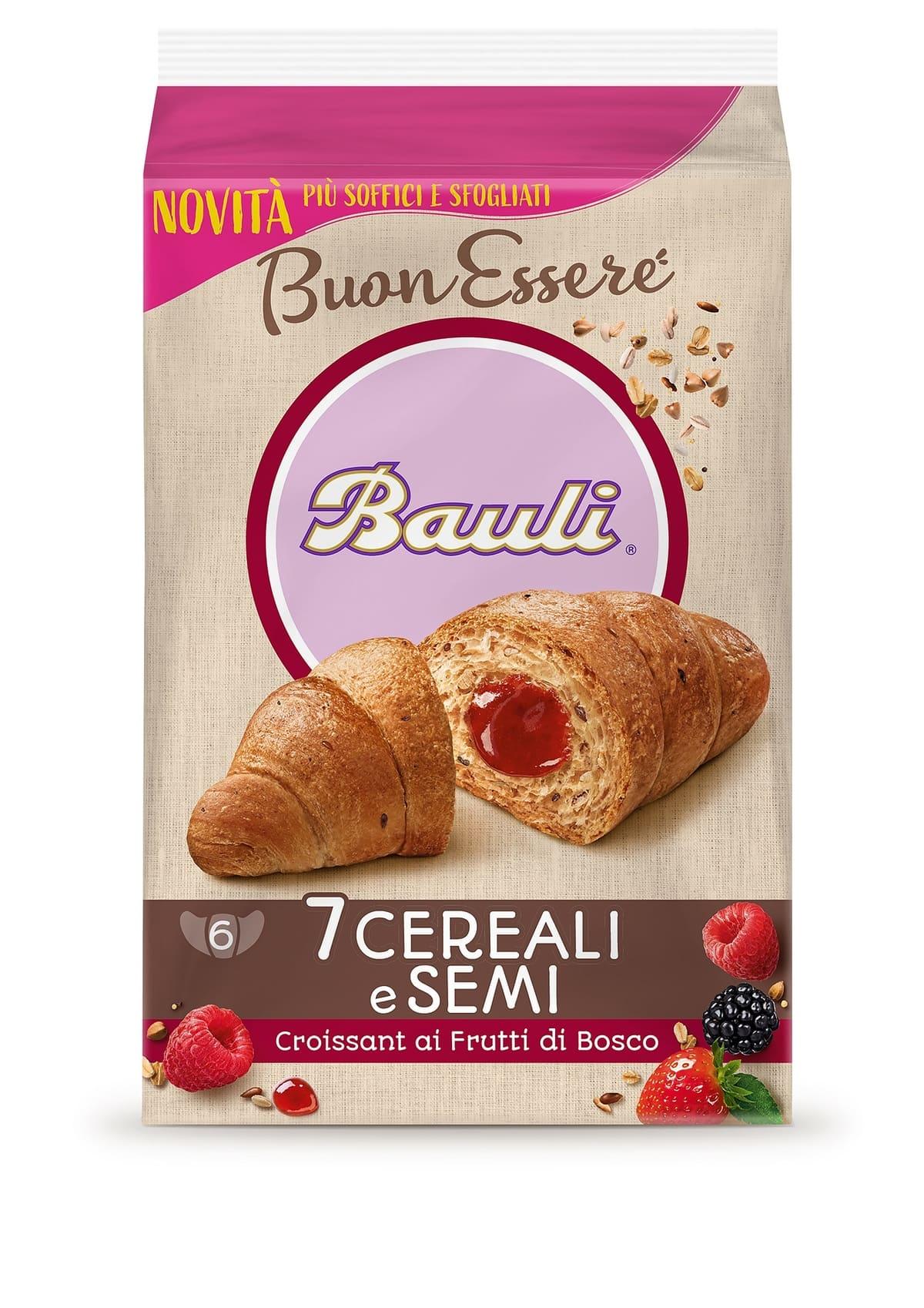 Croissant Bauli BuonEssere 7 Cereali e Semi FRUTTI DI BOSCO_