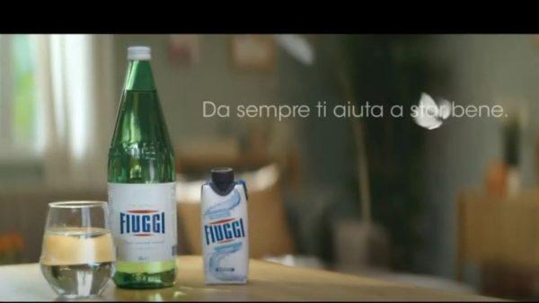 Acqua e Terme Fiuggi in pubblicità