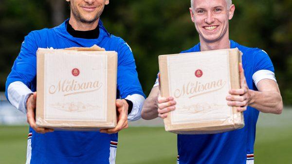 La Molisana e la Sampdoria calcio insieme per Banco alimentare Liguria