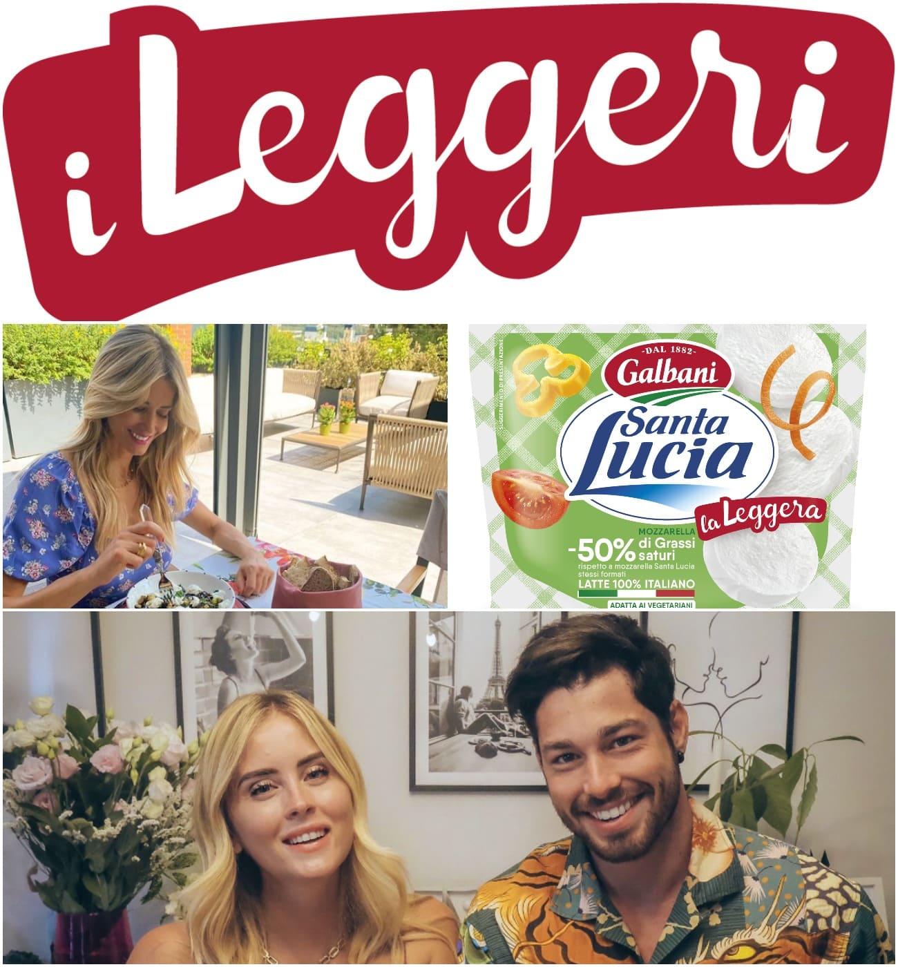 Galbani rilancia la gamma 'i Leggeri' con una campagna di influencer marketing