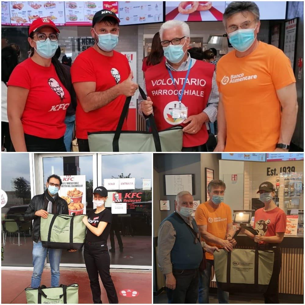 KFC dona 46.000 pasti