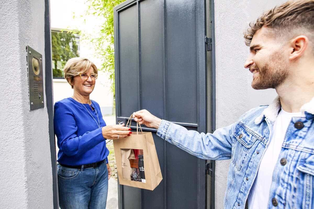 Delivery shopper client Shopopop