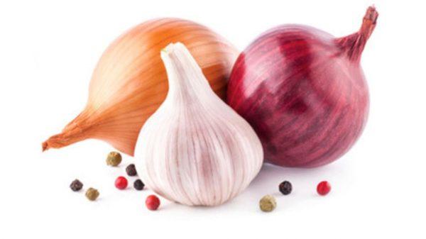 cipolla e aglio