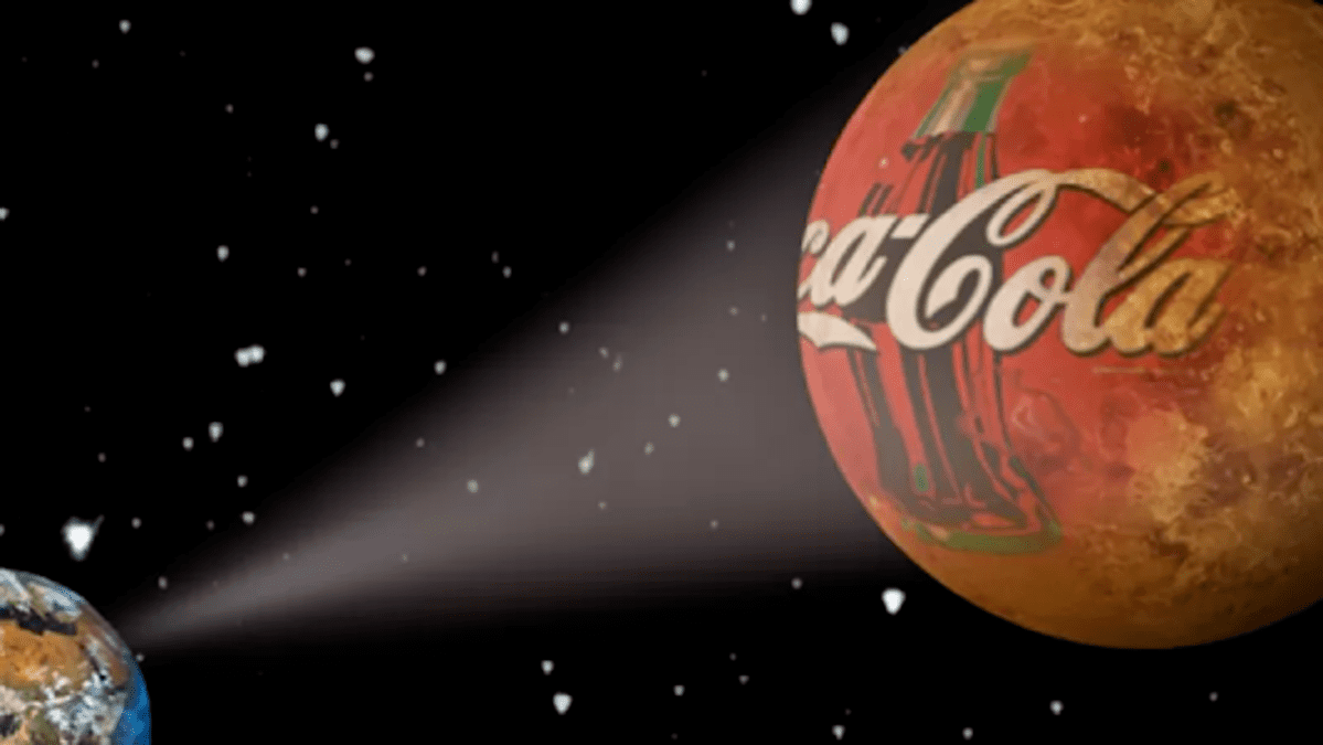 coca-cola spazio