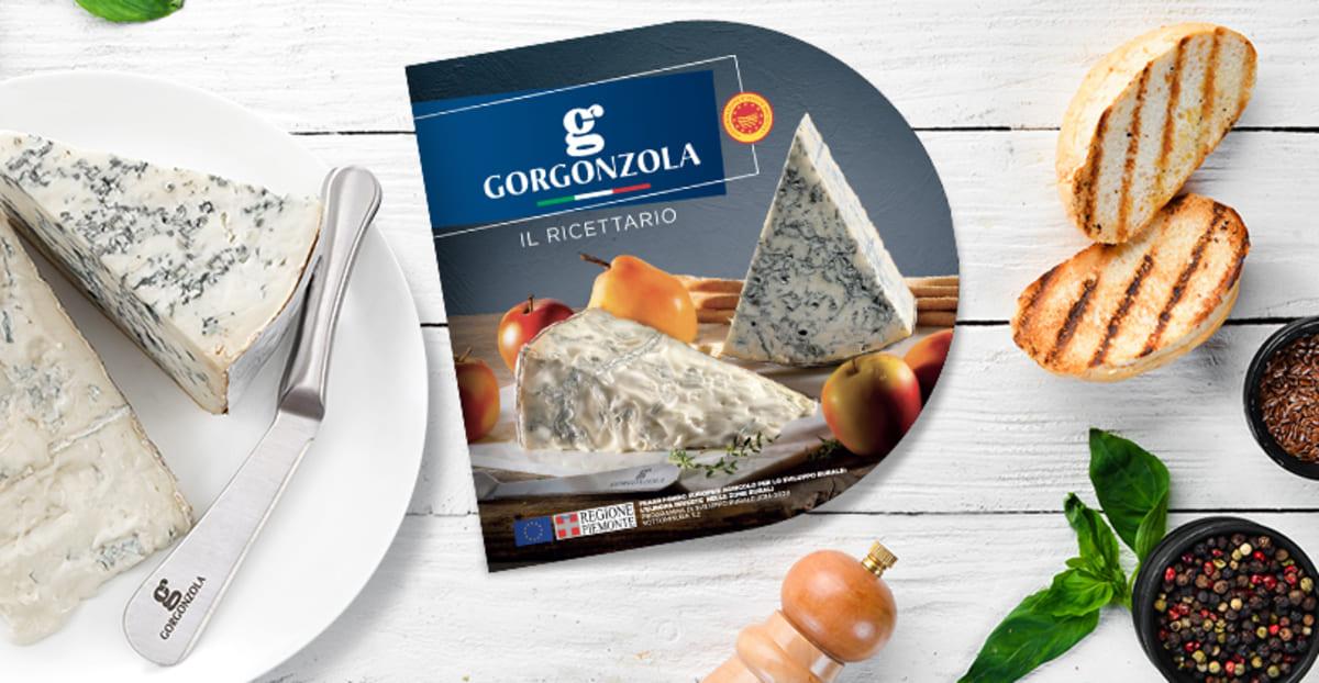 il Consorzio Gorgonzola presenta il nuovo ricettario
