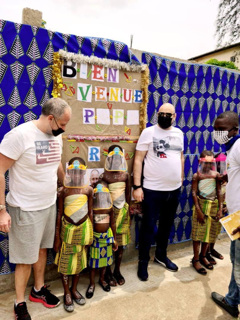 Airone Seafood sempre più impegnato in progetti di cooperazione a favore dei bambini africani