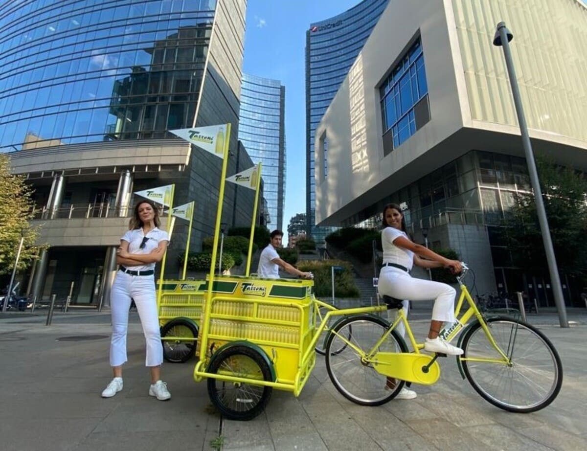 Cargo bike tassoni