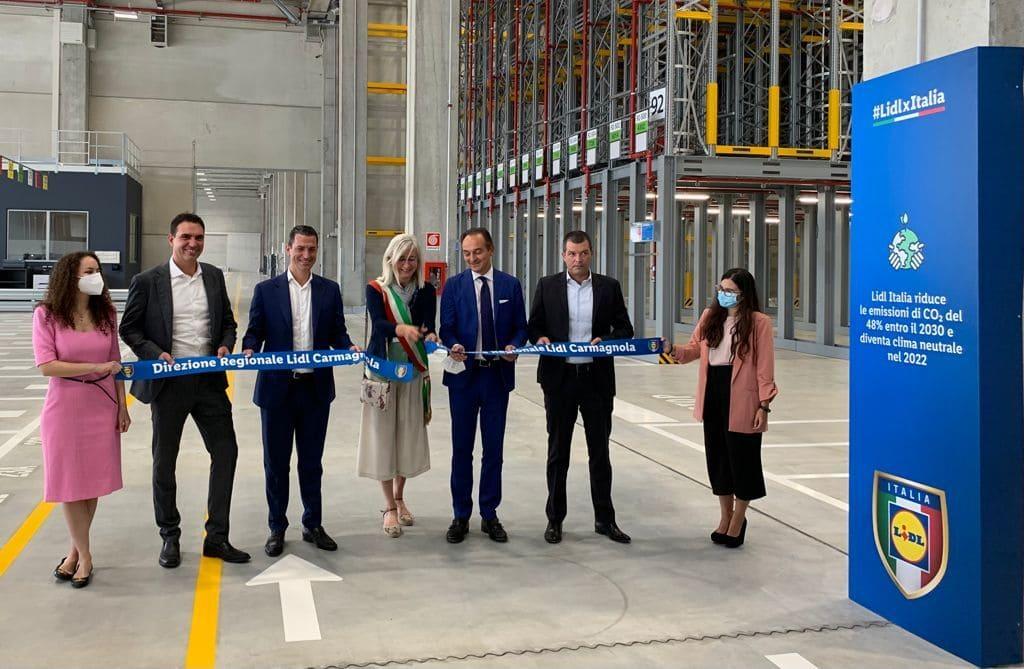 Lidl Italia investe 60 milioni di euro nella nuova Direzione Regionale a Carmagnola (To)