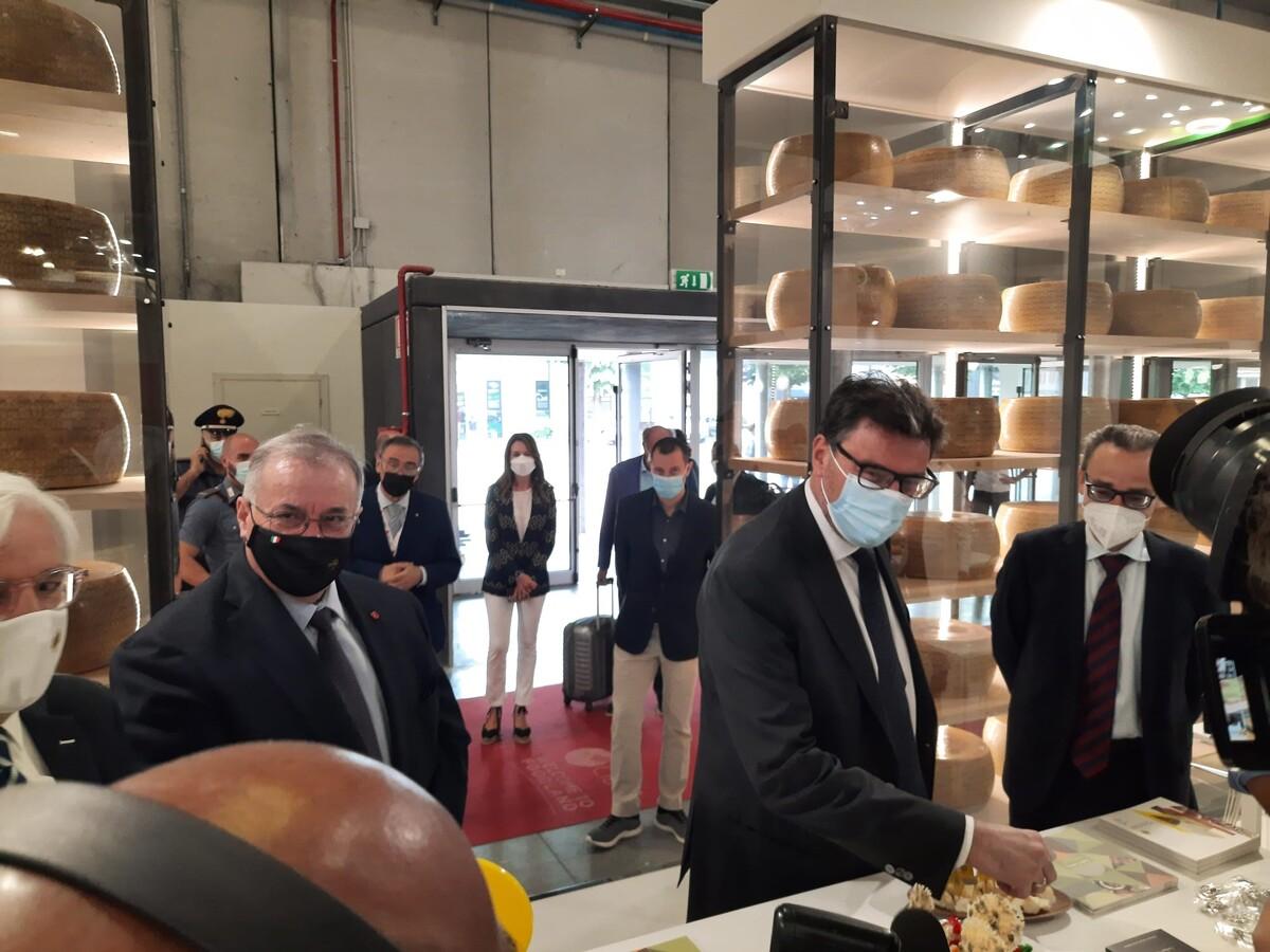 Giancarlo Giorgetti a Cibus 2021