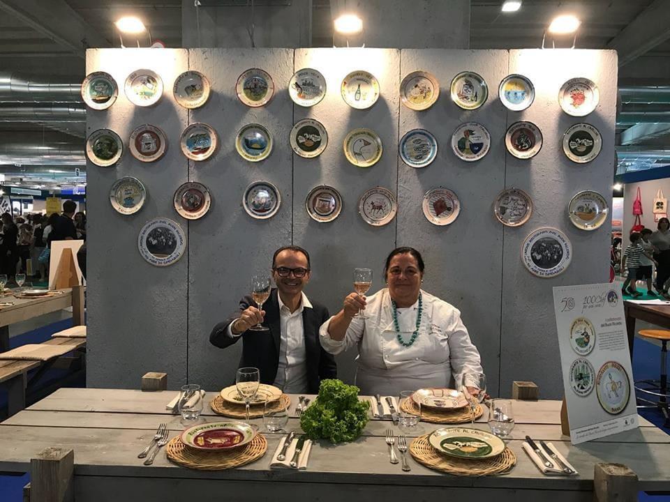Luciano Spigaroli e Giovanna Guidetti