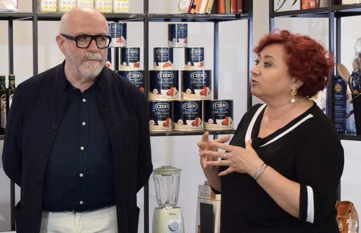 Luigi Franchi e Cristina Lunardini