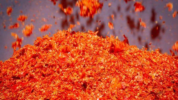 Scarti di produzione alimentare riciclati