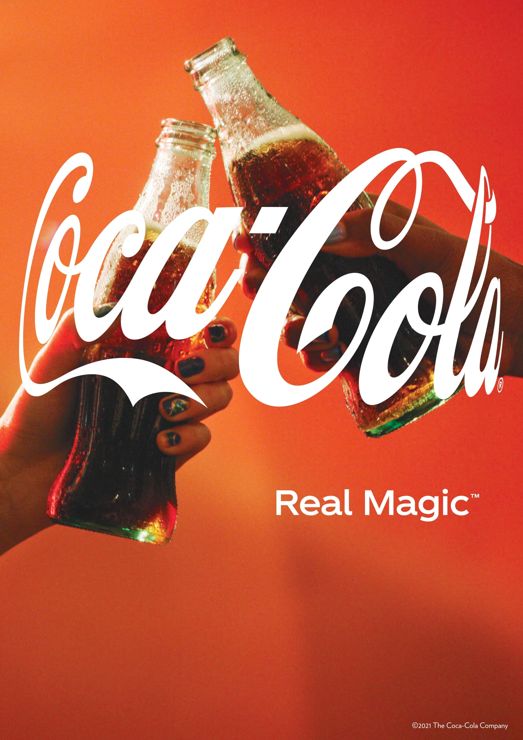 Coca-Cola lancia Real Magic