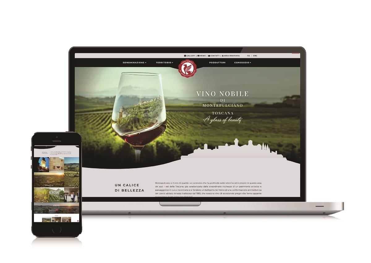 'A glass of beauty' del Vino Nobile di Montepulciano