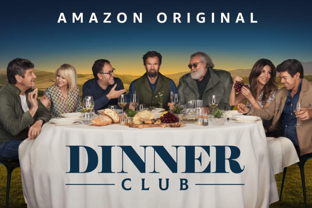 Dinner Club è la nuova serie italiana in streaming su Amazon Prime Video i